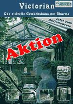 Viktorianisches Gewachshaus Im Englischen Stil Aktionspreis