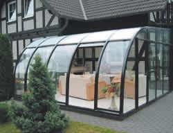 Glashaus Wintergarten terragarden das cabrio der wintergärten